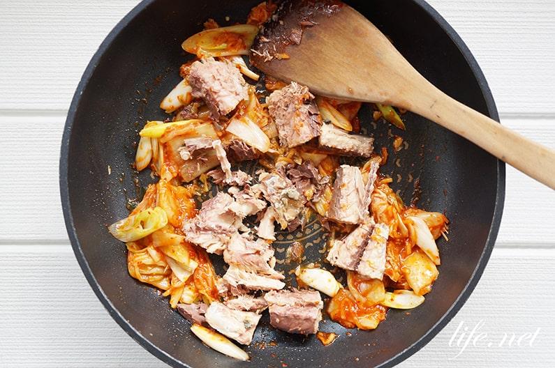 サバ缶キムチのレシピ。あさイチで紹介の簡単絶品メニュー。