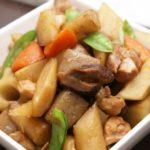 根菜とひき肉のしぐれ煮