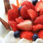ホールケーキを均等に切り分ける方法