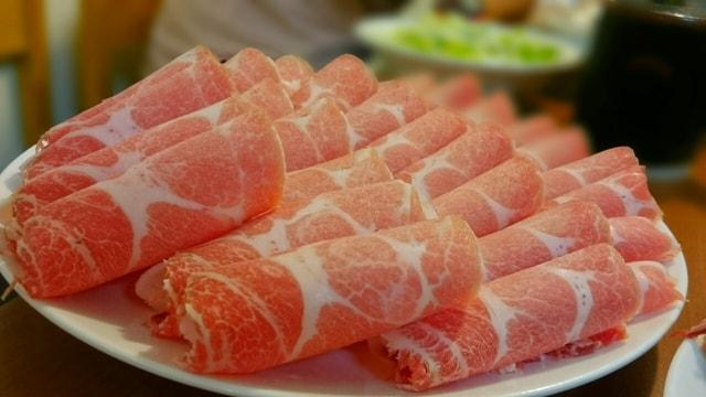 豚肉とみょうがの酢き焼きの作り方