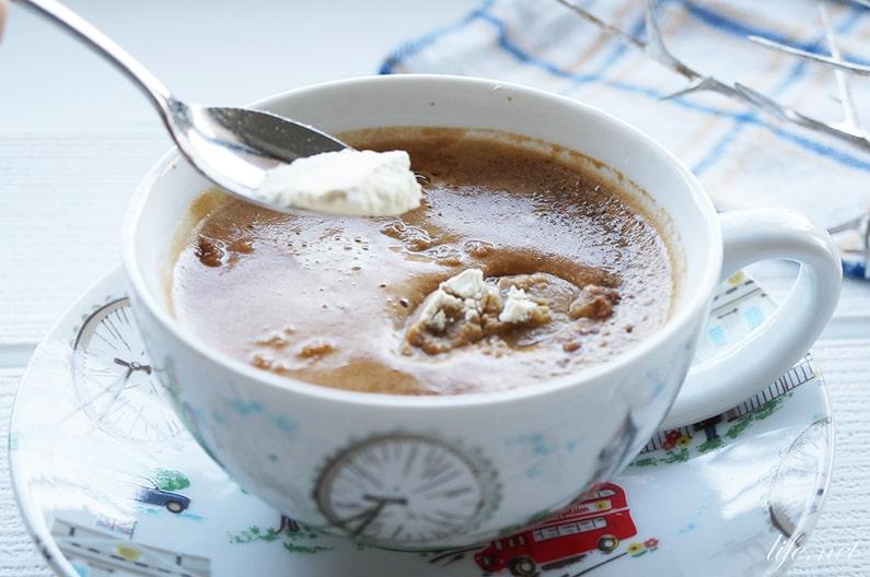 おからパウダーコーヒーのレシピ