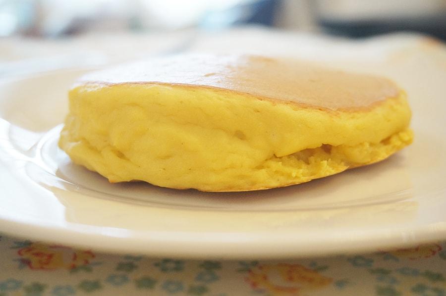 大豆粉で作る低糖質パンケーキのレシピ