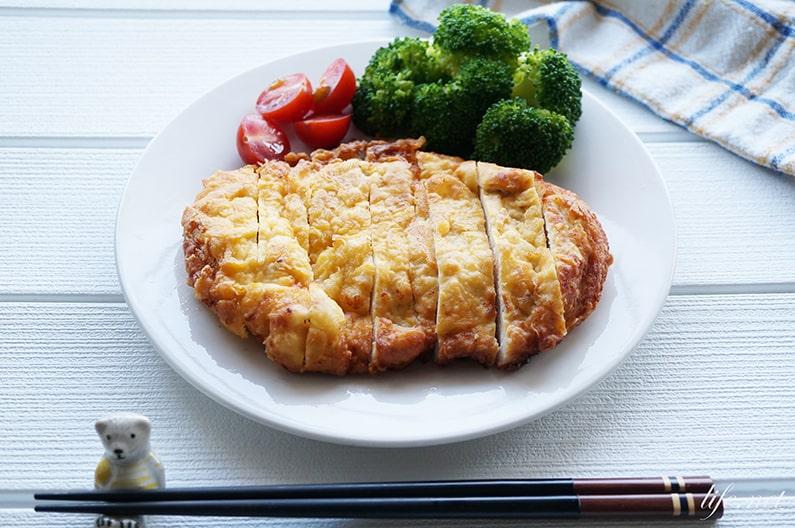 おからパウダーチキンカツのレシピ。糖質制限ダイエットにおすすめ。