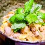 鶏ひき肉で作る親子丼のレシピ