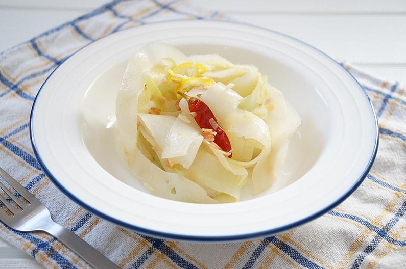 大根の皮のペペロンチーノのレシピ