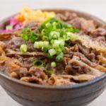 ひき肉で作る牛丼のレシピ・作り方