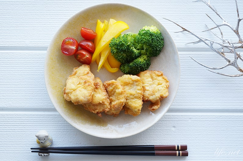 おからパウダーチキンナゲットのレシピ。糖質制限ダイエットにおすすめ。