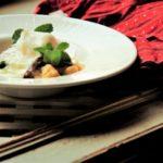 里芋ニョッキのチーズソースのレシピ・作り方