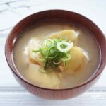 豆腐と生姜の味噌汁のレシピ。男子ごはんの炒め生姜の味噌汁。
