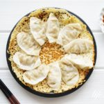 あさイチのチーズ羽根つきギョーザのレシピ。カリカリでおつまみに。