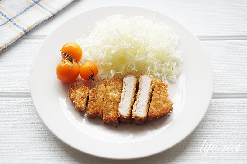 水島シェフのとんかつの作り方。低温調理で作るレシピと揚げ方。