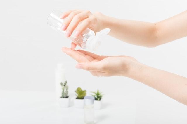 乾燥肌対策のスキンケアの方法。