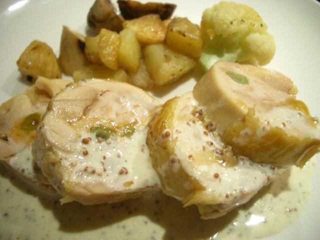 鶏胸肉のクリーム煮のレシピ。世界一受けたい授業で話題の作り方。
