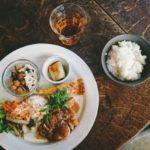 かぼちゃと鶏もも肉のビネガーマヨソースのレシピ