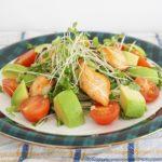 ブロッコリースプラウトのサラダのレシピ