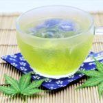 生姜緑茶氷の作り方