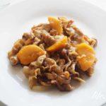 柿と豚肉の生姜焼きのレシピ。メインになるおかずにおすすめ!