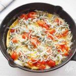 しらすチーズオムレツのレシピ。子供にも大人気!
