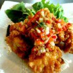 鶏の竜田揚げをカラッと揚げる方法