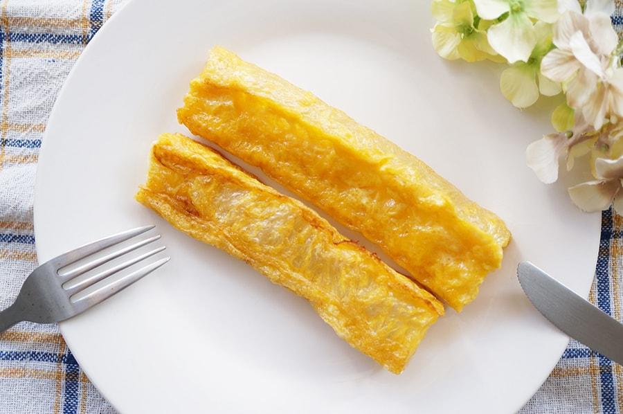棒寒天のフレンチトーストのレシピ