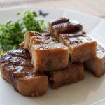 下味冷凍で作る豚の角煮のレシピ