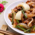 豚肉とねぎの炒め物のレシピ