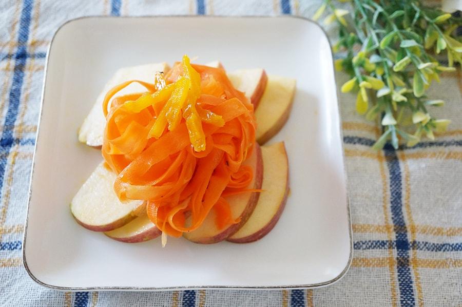 にんじんとフルーツのホットマリネのレシピ