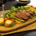 赤ワインソースのステーキのレシピ