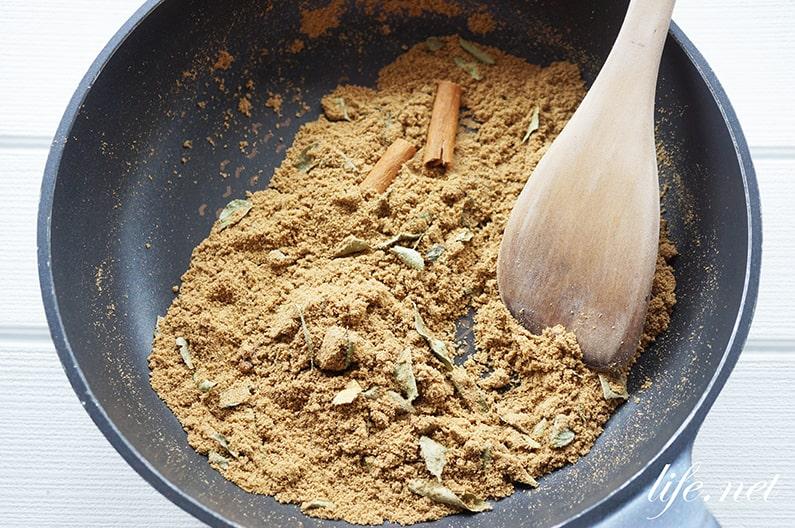 男子ごはんのカレースパイスのレシピ。おすすめの種類と配合を紹介。