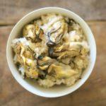 牡蠣の釜飯の作り方