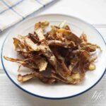 里芋の皮チップスのレシピ。揚げるだけ!高血圧改善にもおすすめ。