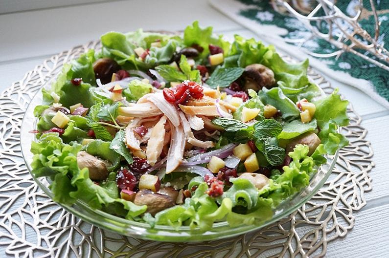 クランベリーサラダのレシピ