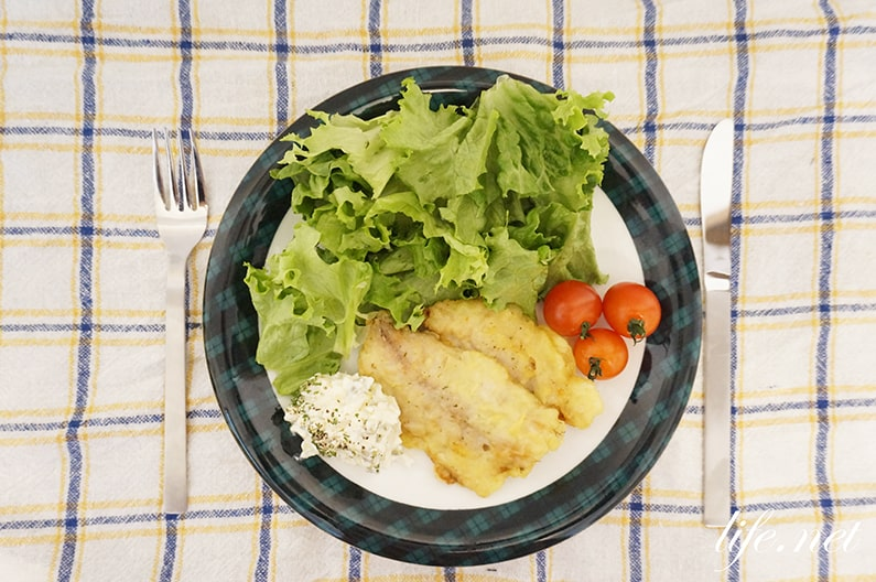 パン粉なしアジフライのレシピ。平野レミさんのいいおアジ。
