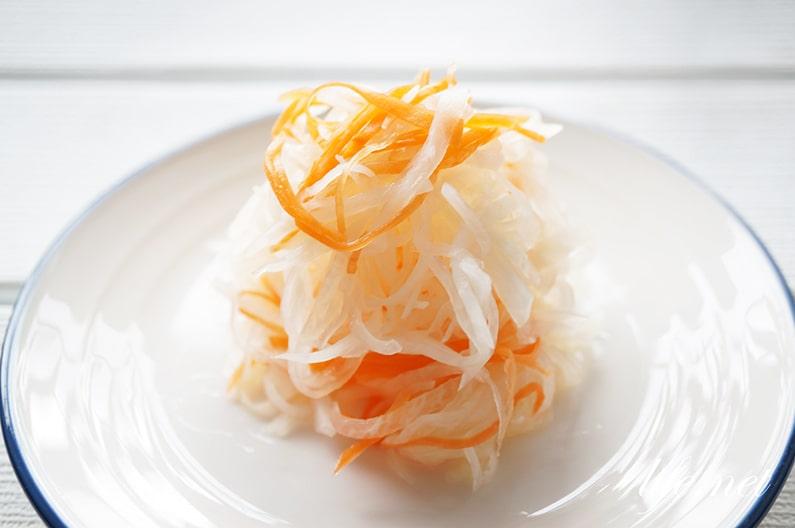 紅白なますの簡単レシピ。おせち料理に!あさイチで話題の作り方。
