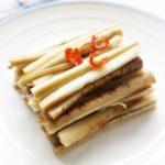 栗原はるみさんのごぼうの甘酢漬けのレシピ。酢ごぼうの作り方。