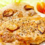 豚肉のソテー黒酢風味のレシピ