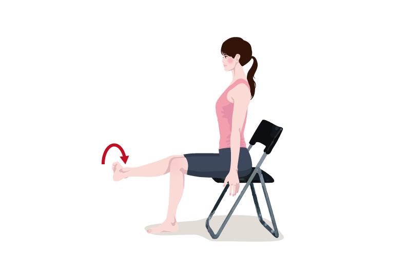 大腿四頭筋を鍛える5秒筋トレーニング