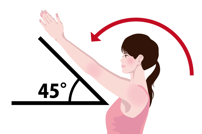 二の腕が細くなる5秒筋トレのやり方