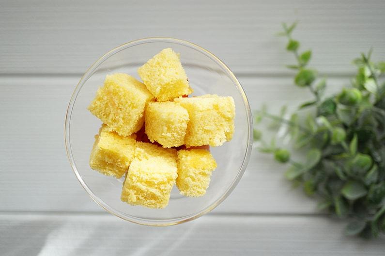 いちごのグラスショートケーキのレシピ