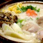 豆乳海苔鍋のレシピ