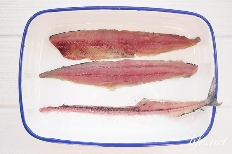 志麻さんのサンマのテリーヌのレシピ。じゃがいもでサンドします。