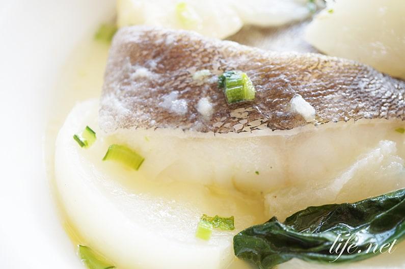 鱈とかぶの煮物ブルターニュ風の作り方。フレンチシェフのレシピ。