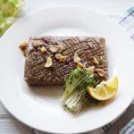 平野レミさんのこんにゃくステーキのレシピ
