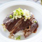 あさイチのステーキ丼のレシピ。オージービーフの焼き方も紹介。