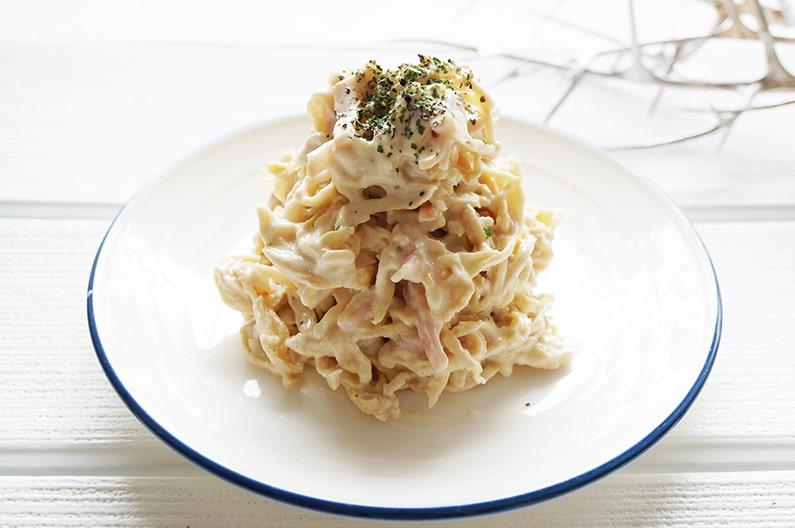 切り干し大根ヨーグルトサラダのレシピ。乾物ダイエットにおすすめ。