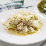 白菜とアンチョビのホットサラダのレシピ