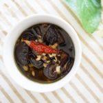 干ししいたけと生姜のアヒージョのレシピ