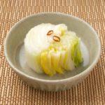 塩もみ白菜のレシピ