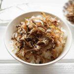 ごぼう茶の茶殻ふりかけのレシピ。出し殻でできる簡単ふりかけ。