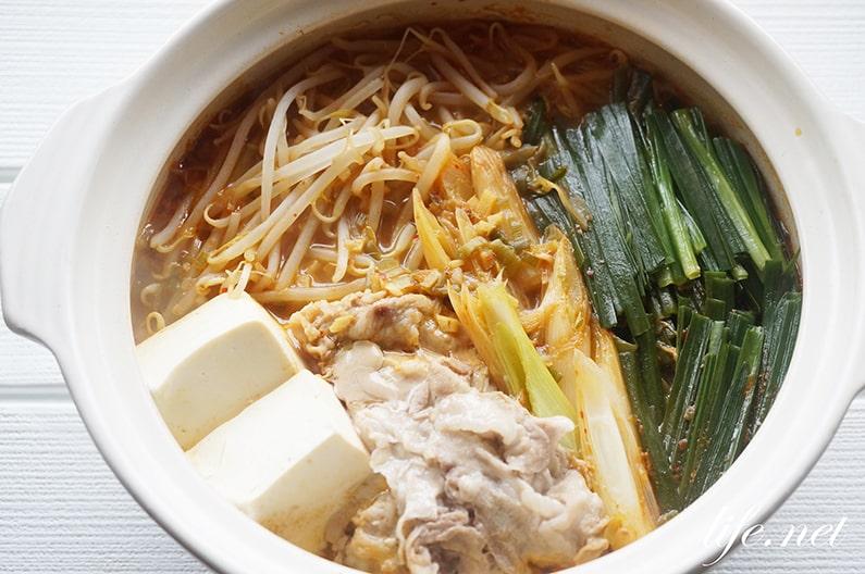 キムチ鍋は梅酒で絶品に。ソレダメで話題の本格隠し味のレシピ。